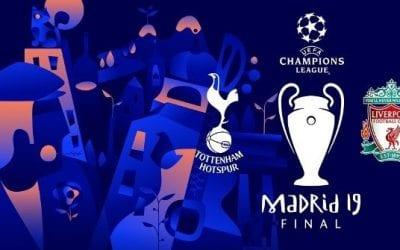 UEFA Champions League Final – Sunday 2nd June 2019 2am